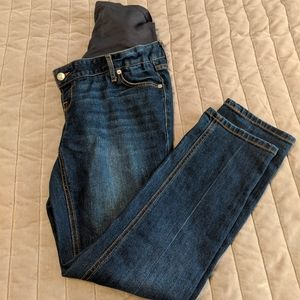 Old Navy straight leg maternity jeans